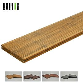 Natural Bamboo Poly Wood Interlocking Deck & Patio Tiles For Backyard